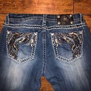 Miss Me skinny jeans! Size: 31